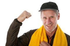 Vieil homme de sport Photo libre de droits