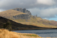 Vieil homme de Storr Photo stock