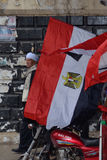 Vieil homme demostrating dans le vêtement traditionnel Images libres de droits