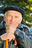 Vieil homme heureux Photos libres de droits