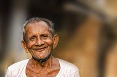Vieil homme indien Images libres de droits