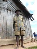 Vieil homme malgache Photos libres de droits