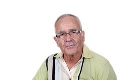Vieil homme retiré photo libre de droits