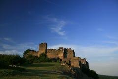 Vieil horizontal médiéval de forteresse Photographie stock libre de droits