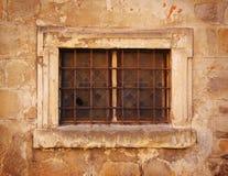 Vieil hublot Photographie stock libre de droits