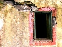 Vieil hublot Image stock