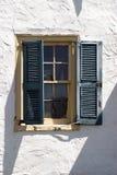 Vieil hublot Photo stock