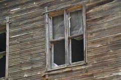 Vieil hublot en bois Photo libre de droits