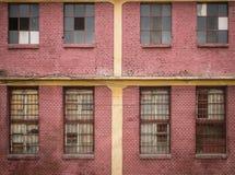 Vieil immeuble de brique Image libre de droits