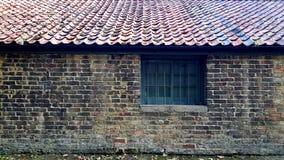 Vieil immeuble de brique Photo libre de droits