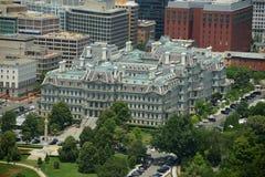 Vieil immeuble de bureaux exécutifs d'Eisenhower dans le Washington DC, Etats-Unis Photos libres de droits
