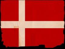 Vieil indicateur Danemark de cru Photographie stock libre de droits
