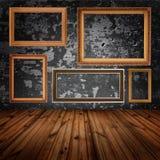 Vieil intérieur de maison Image libre de droits