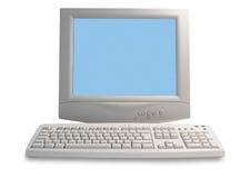 Vieil ordinateur Images stock