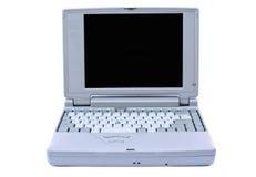 Vieil ordinateur portatif Images libres de droits