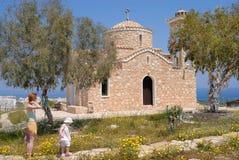 vieil orthodoxe d'église Photos stock