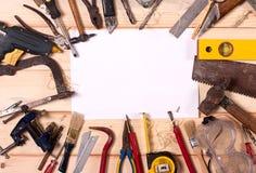 Vieil outil de bricolage Photo libre de droits