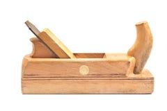 Vieil outil en bois plat de jointer Photo libre de droits