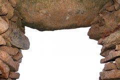Vieil passage arqué en pierre Photos libres de droits