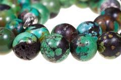 Collier de femmes de turquoise Photo libre de droits