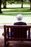 Vieillard Image libre de droits