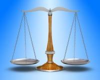 Vieille échelle Photo libre de droits