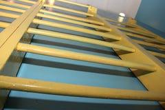 Vieille échelle gymnastique Image stock
