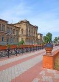 Vieille école dans Kerch, Crimée, Ukraine Photo stock