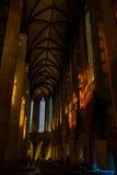 Vieille église à Toulouse Photo stock