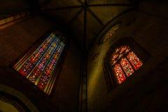 Vieille église à Toulouse Images libres de droits