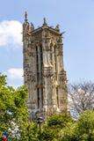 Vieille église célèbre Saint-Germain-l& x27 ; Auxerrois du 7ème siècle photo libre de droits