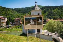 Vieille église catholique dans Prijepolje, Serbie Photographie stock libre de droits