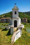Vieille église catholique dans Prijepolje, Serbie Images libres de droits