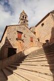 Vieille église (Croatie) Photographie stock libre de droits