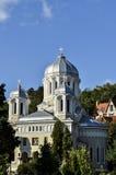 Vieille église d'Ortodox dans Central Park Brasov, Roumanie Image stock