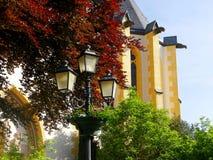 Vieille église dans Ahrweiler photographie stock libre de droits