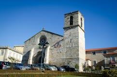 Vieille église dans Barcelos Images libres de droits