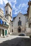 Vieille église dans Bitonto Italie Image libre de droits