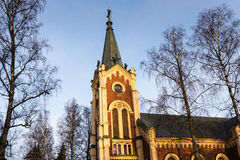 Vieille église dans la lumière de matin Image stock