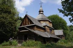 Vieille église dans le musée de Pirogovo, Kiev, Ukraine Images libres de droits