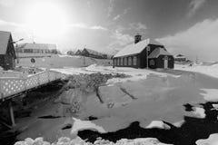 Vieille église dans le qaqortoq Photos libres de droits