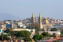 Vieille église dans Mazatlan Images libres de droits