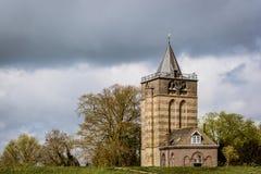 Vieille église dans Varik Pays-Bas Image libre de droits