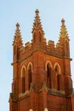 Vieille église de brique Image libre de droits