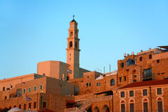Vieille église de Jaffa image libre de droits