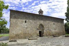 Vieille église de Jotari d'Albanais en Azerbaïdjan Image stock