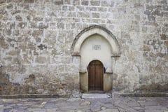 Vieille église de Jotari d'Albanais en Azerbaïdjan Image libre de droits