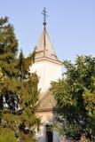 Vieille église de Saint-Nicolas serbia Vojevodina Cortanovci photo libre de droits