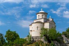Vieille église de Svetog Stanka d'Ostrog Images stock