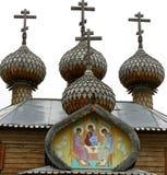 Vieille église en bois. Photos libres de droits